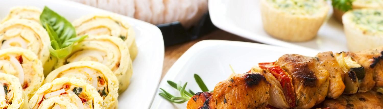 Chicken Kabobs, shrimp