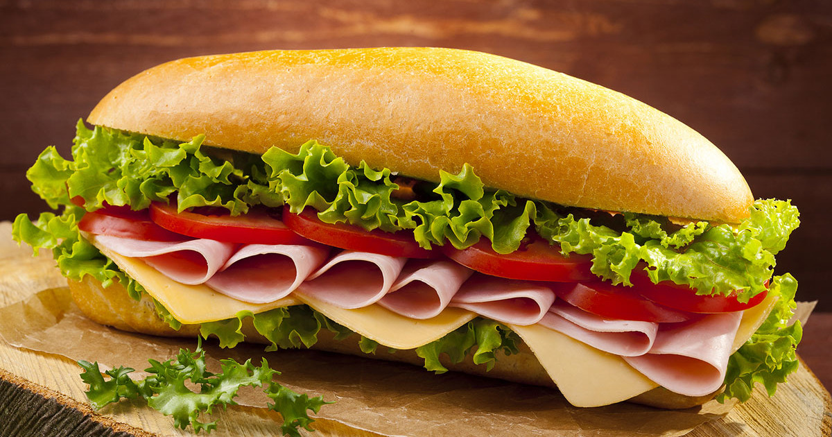 Fresh prepared sandwiches from Hugo's Family Marketplace